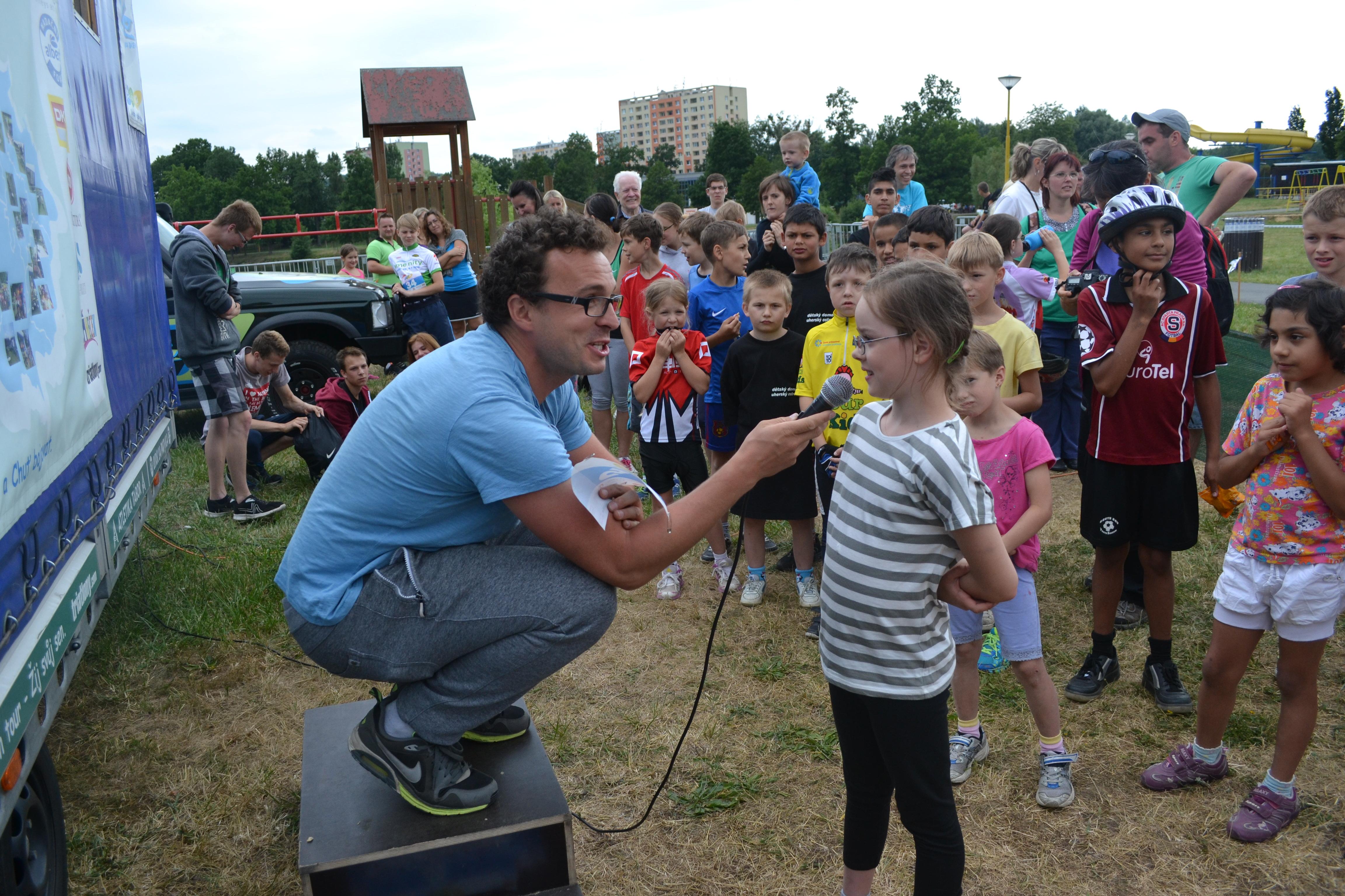 Tomášův denní chleba – sportovní akce pro děti z detských domovů nebo sociálně slabých rodin.
