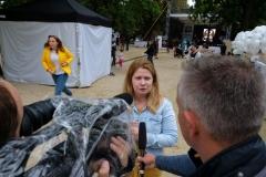 Eva Baborová, ředitelka  spolku ALSA, který akci  organizoval na podporu pacientů s ALS