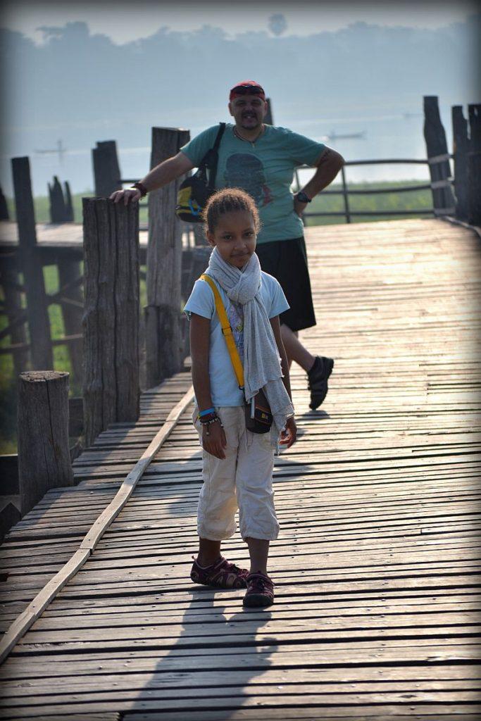 Dcera Viki s manželem