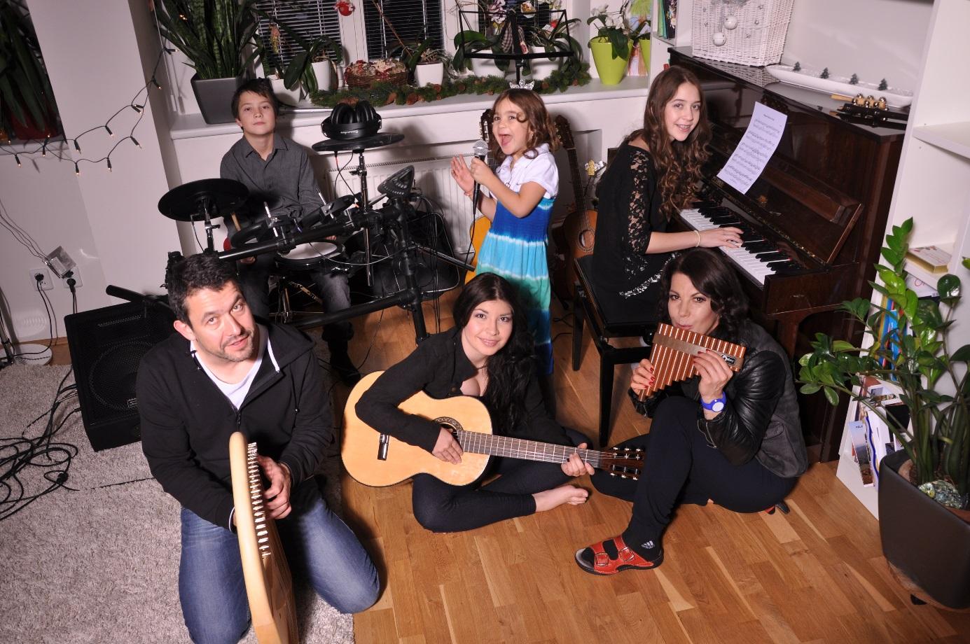 Radvan Bahbouh s rodinou, zdroj: archiv Radvana Bahbouha