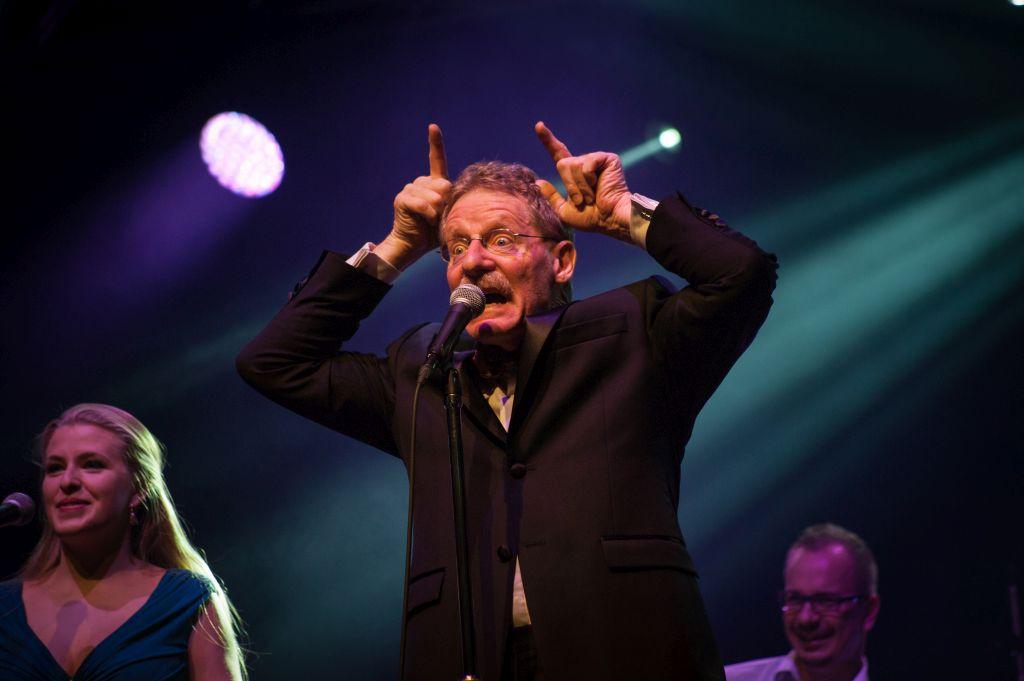 Výtěžek koncertů The Statement, kde kromě Garyho hraje dalších 5 zdravotních klaunů, putuje do OS Zdravotní klaun. (z koncertu), foto: archiv Garyho Edwarse